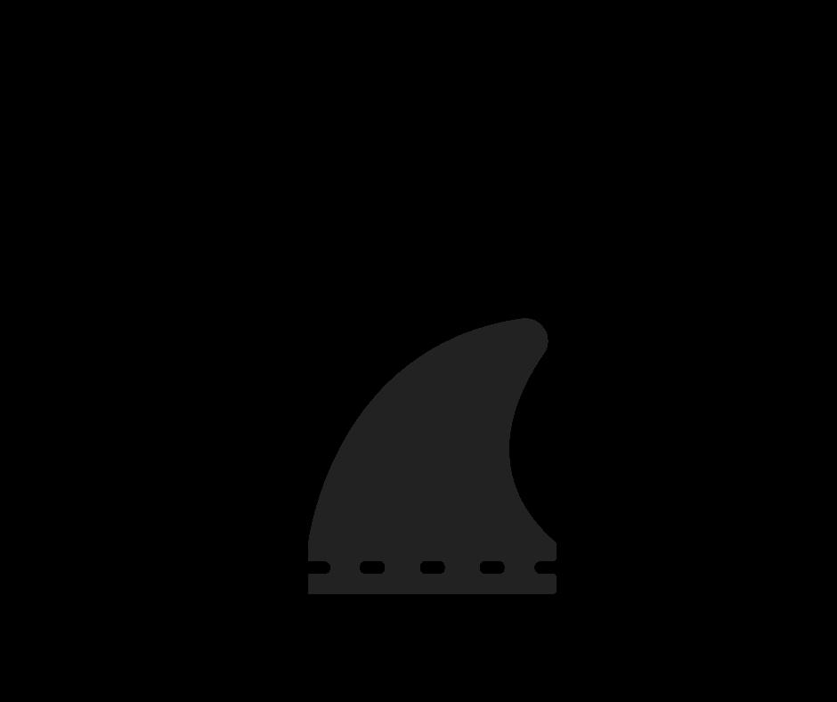 Fin base length